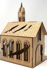 Frontline Gaming ITC Terrain Series: War-torn Cobblestone Village Church