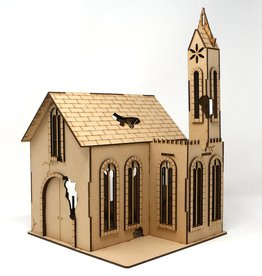 Frontline Gaming ITC Terrain Series: War-torn Cobblestone Village Church