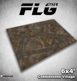 Frontline Gaming FLG Mats: Cobblestone Village 6x4'