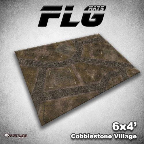 FLG Mats: Cobblestone Village 6' x 4'