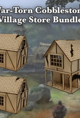 Frontline-Gaming ITC Terrain Series: War-torn Cobblestone Village Store Bundle