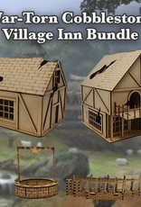 Frontline-Gaming ITC Terrain Series: War-torn Cobblestone Village Inn Bundle