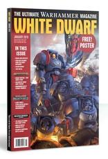 Games Workshop White Dwarf January 2019