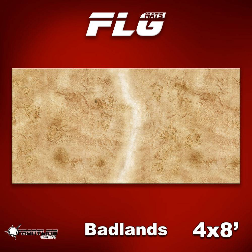 Frontline Gaming FLG Mats: Badlands 1 4x8'