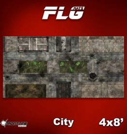 Frontline-Gaming FLG Mats: City 1 4x8'