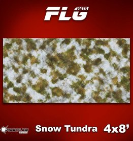 Frontline-Gaming FLG Mats: Snow Covered Tundra 4x8'