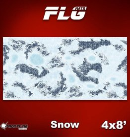 Frontline Gaming FLG Mats: Snow 1 4x8'