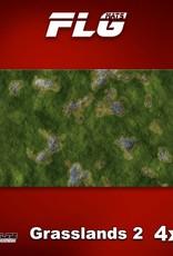 Frontline-Gaming FLG Mats: Grasslands 2 4x8'