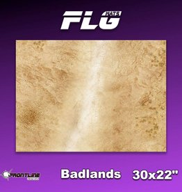 "Frontline-Gaming FLG Mats: Badlands 1 30"" x 22"""