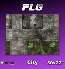 "Frontline-Gaming FLG Mats: City 1 30"" x 22"""