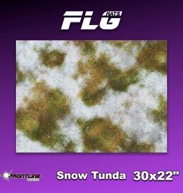 "Frontline Gaming FLG Mats: Snow Tundra 1 30"" x 22"""