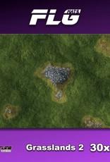 """Frontline Gaming FLG Mats: Grasslands 2 30"""" x 22"""""""