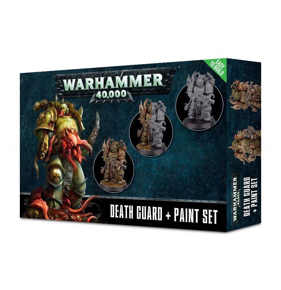 Games Workshop Death Guard + Paint Set