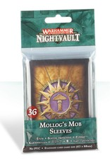 Games Workshop Warhammer Underworlds: Nightvault – Mollog's Mob Sleeves