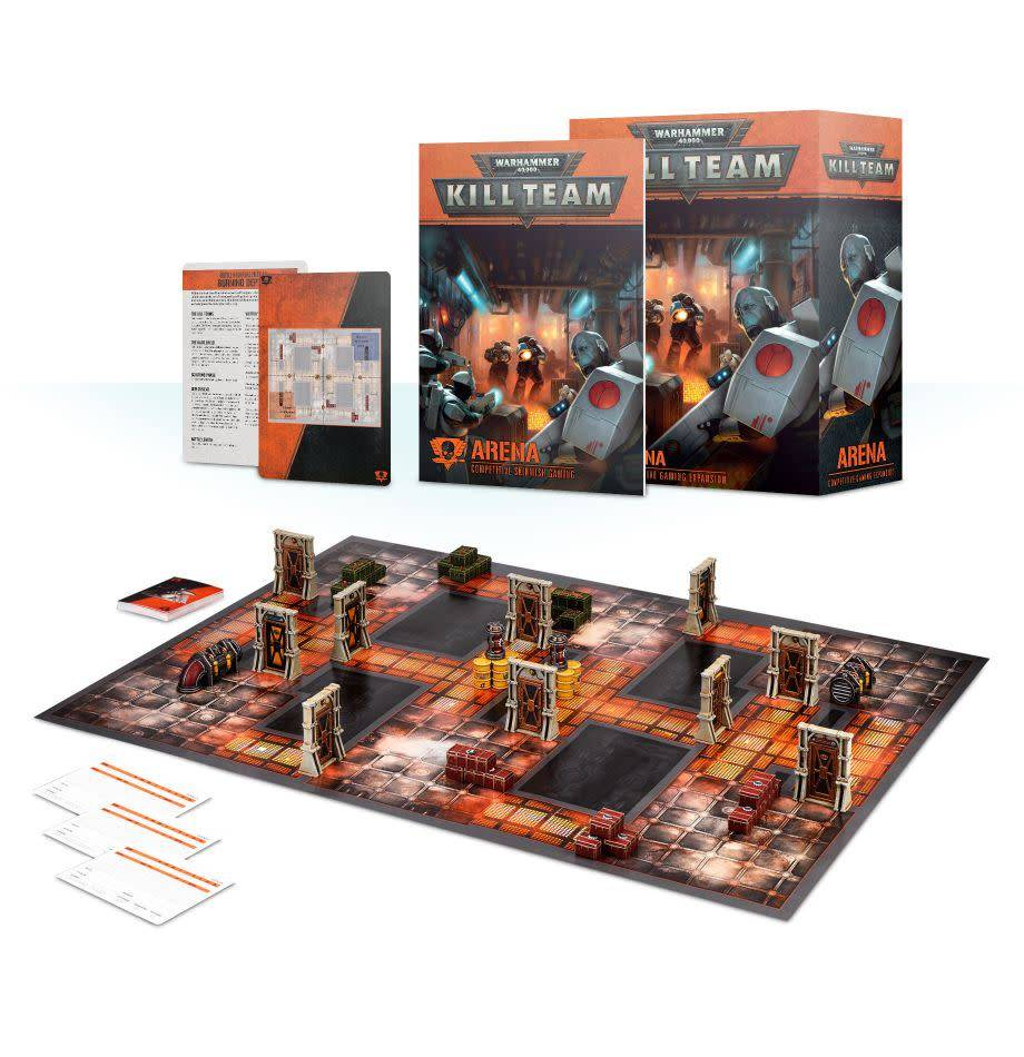 Games Workshop Kill Team: Arena – Competitive Gaming Expansion