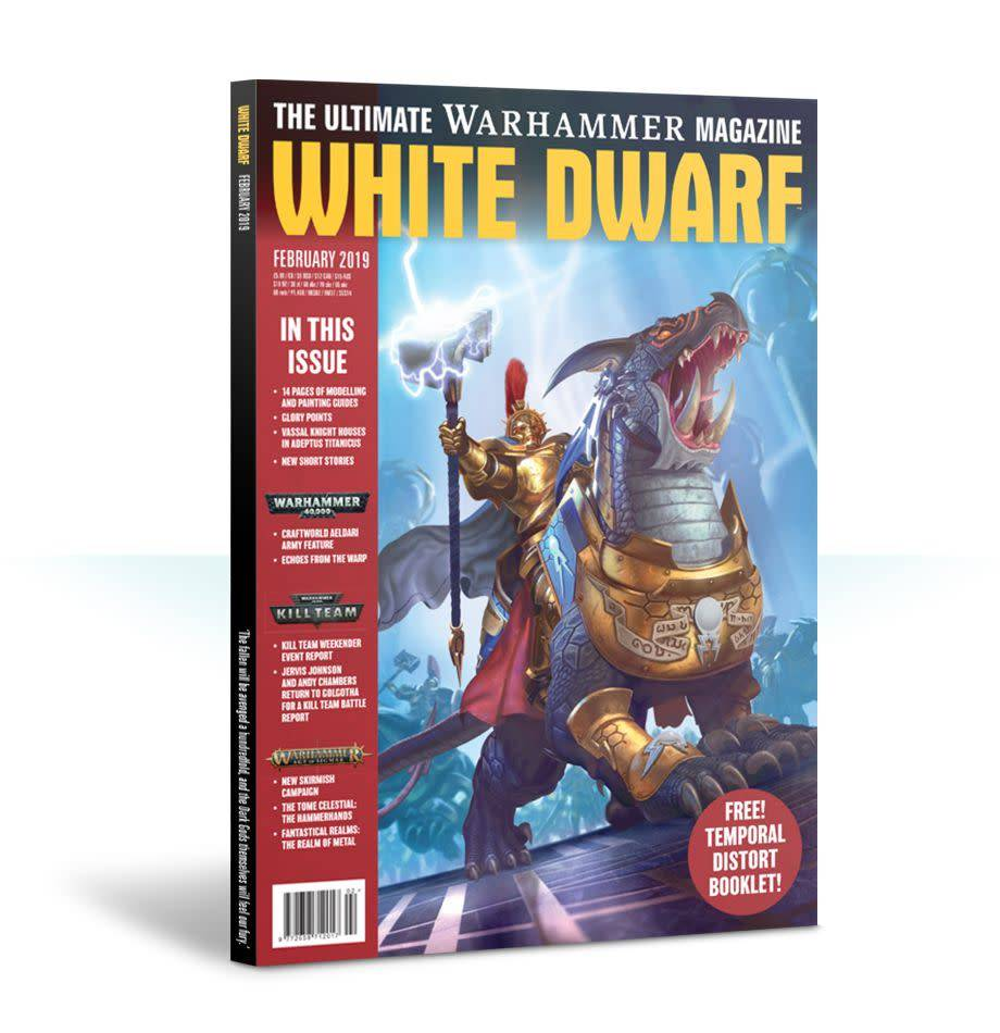 Games Workshop White Dwarf February 2019