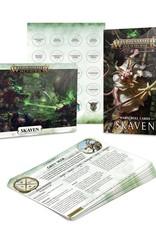 Games Workshop Warscroll Cards: Skaven