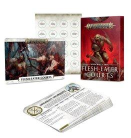 Games Workshop Warscroll Cards: Flesh-eater Courts