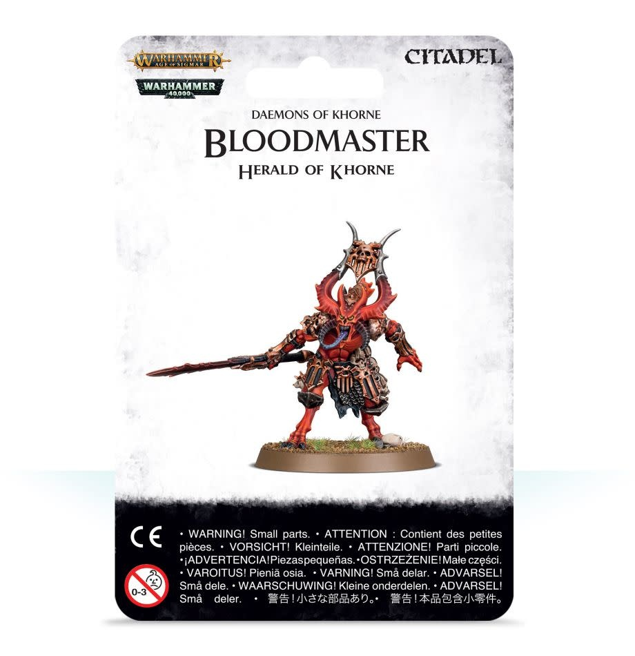 Games Workshop Bloodmaster, Herald of Khorne