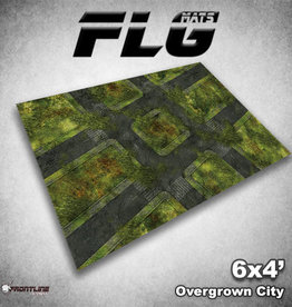 Frontline Gaming FLG Mats: Overgrown City 6x4'