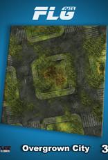 Frontline Gaming FLG Mats: Overgrown City 3x3'