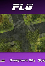 "Frontline-Gaming FLG Mats: Overgrown City 30"" x 22"""