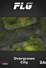 "Frontline-Gaming FLG Mats: Overgrown City 24"" x 14"""