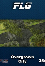 Frontline-Gaming FLG Mats: Overgrown City Desk Mat