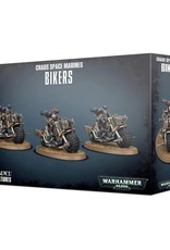 Games Workshop Chaos Space Marines Bikers