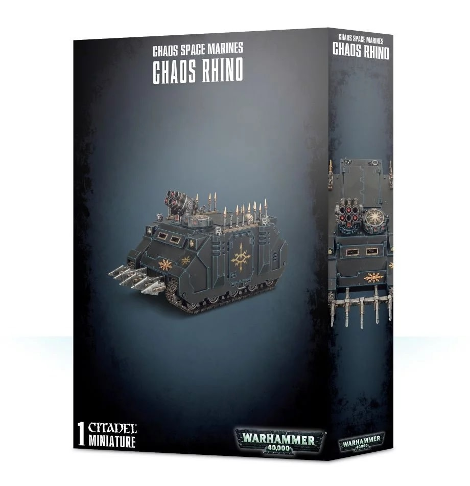 Games Workshop Chaos Space Marines Rhino