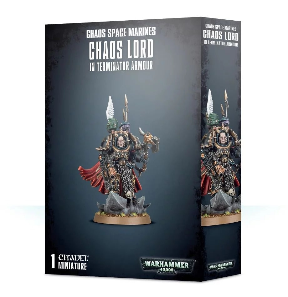 Games Workshop Chaos Space Marines Terminator Lord