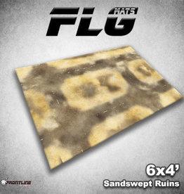 Frontline Gaming FLG Mats: Sandswept Ruins 6x4'
