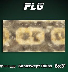 Frontline Gaming FLG Mats: Sandswept Ruins 6x3'
