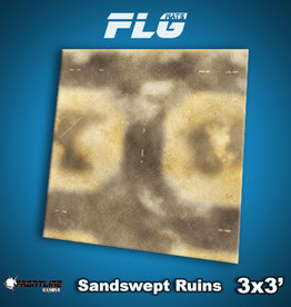 Frontline Gaming FLG Mats: Sandswept Ruins 3x3'
