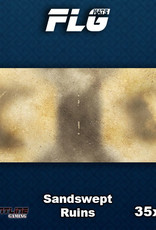 Frontline-Gaming FLG Mats: Sandswept Ruins Desk Mat