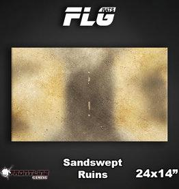 "Frontline Gaming FLG Mats: Sandswept Ruins 24"" x 14"""