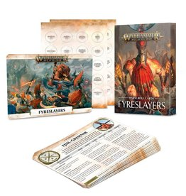 Games Workshop Warscroll Cards: Fyreslayers