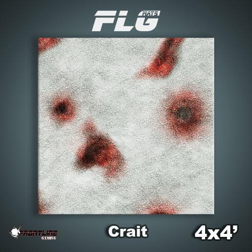 Frontline-Gaming FLG Mats: Crait 4x4'