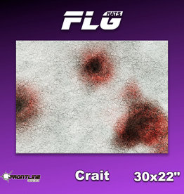 "Frontline Gaming FLG Mats: Crait 30"" x 22"""