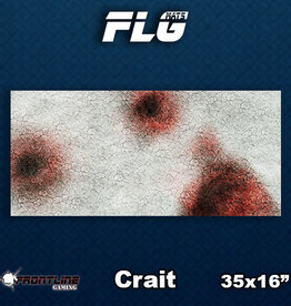 Frontline-Gaming FLG Mats: Crait Desk Mat
