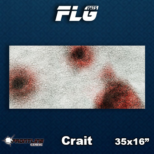 Frontline Gaming FLG Mats: Crait Desk Mat