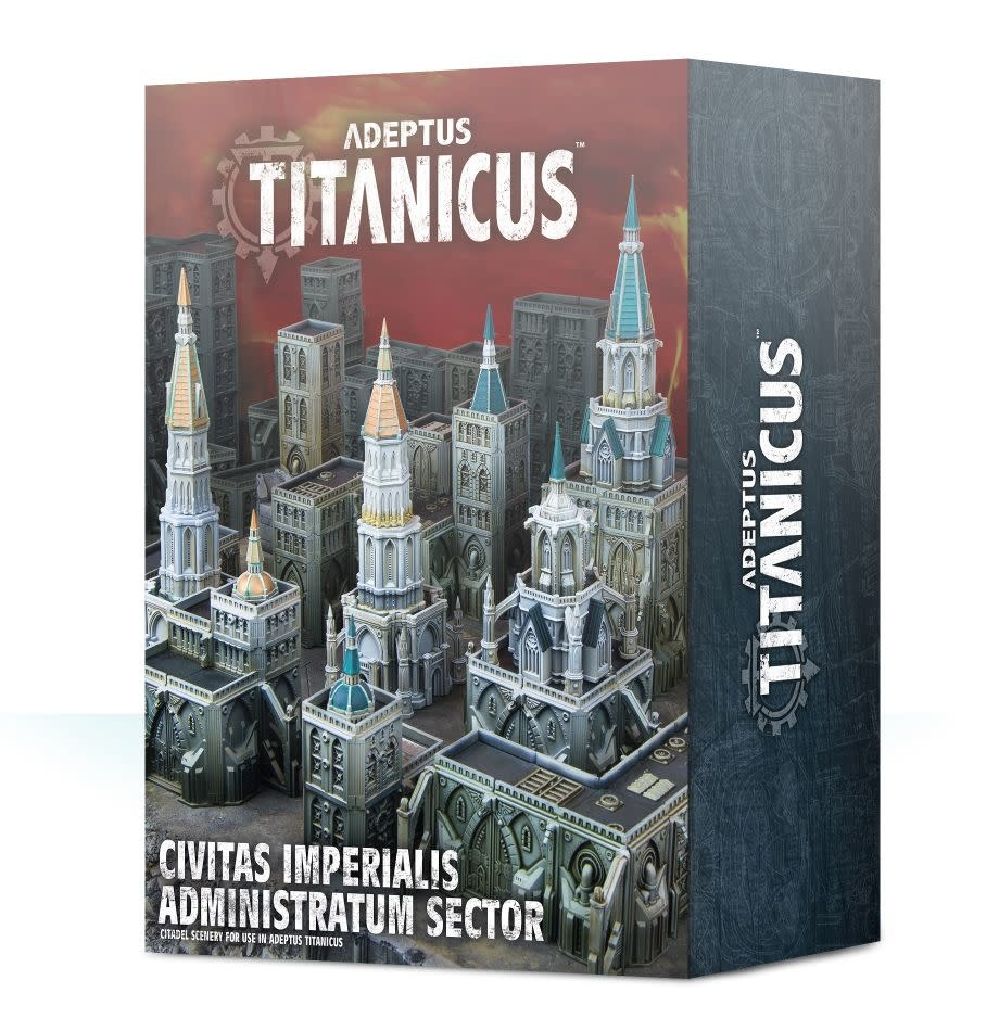 Games Workshop Civitas Imperialis Administratum Sector