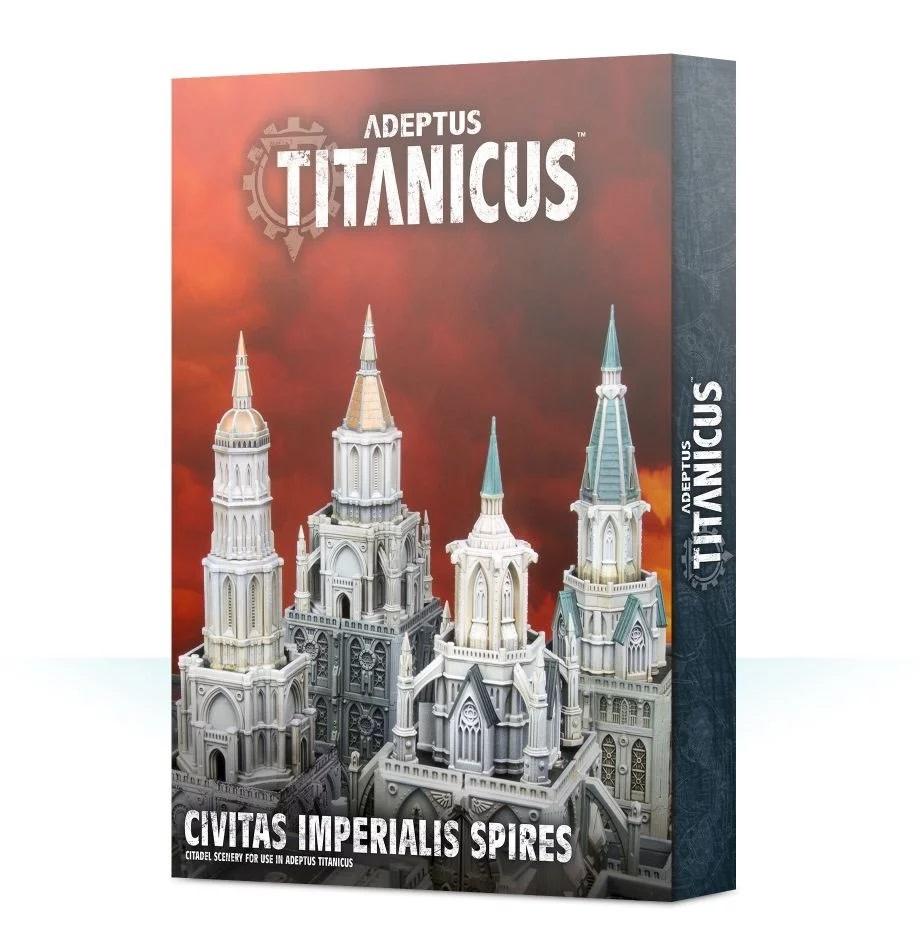 Games Workshop Civitas Imperialis Spires