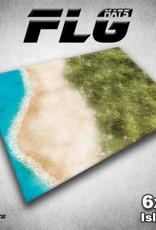 Frontline Gaming FLG Mats: Island 6x4'