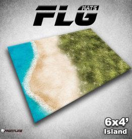 Frontline-Gaming FLG Mats: Island 6x4'