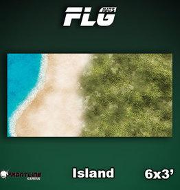 Frontline-Gaming FLG Mats: Island 6x3'