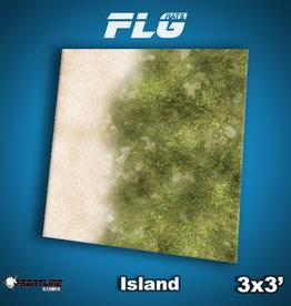 Frontline Gaming FLG Mats: Island 3x3'