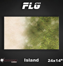 "Frontline Gaming FLG Mats: Island 24"" x 14"""