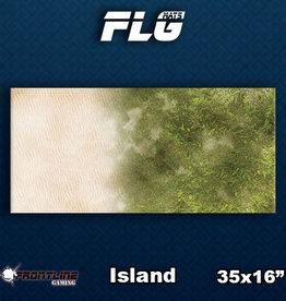 Frontline Gaming FLG Mats: Island Desk Mat