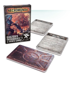 Games Workshop Necromunda: Badzone Environments & Events Cards